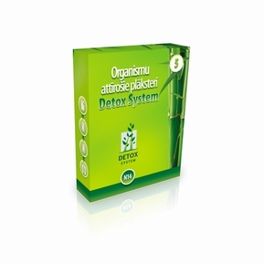 №5 - «Detox System» patches for cleaning of the Liver «Detox System - Gold VG»
